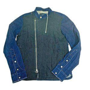 Rapa D Lab Womens Jacket Size Medium M Denim Jean